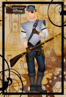 Steampunk John Smith by HelleeTitch