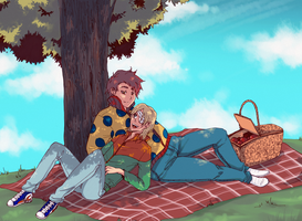 Picnic by Rudaxena
