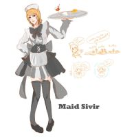 Skin Idea: Maid Sivir by KindCoffee