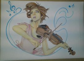 Lindsey Stirling by PigmentStainedSoul