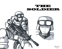 The Soldier by Gold-Paladin