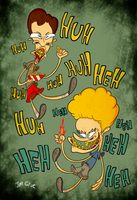Beavis and Butthead by HoekKadoogen