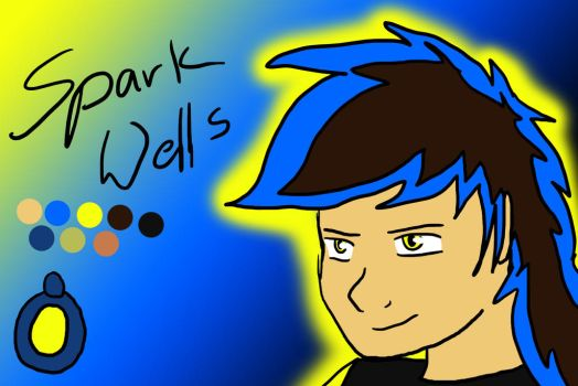 Spark Wells by Firepaws247