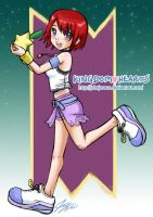 Kingdom Hearts Kairi by johnjoseco