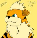 Growlithe-Zenor by ninjassinwolf