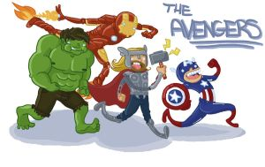 The Avengers by lazy-perfs