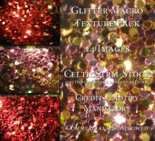 Glitter Macro Textures by CelticStrm-Stock by CelticStrm-Stock