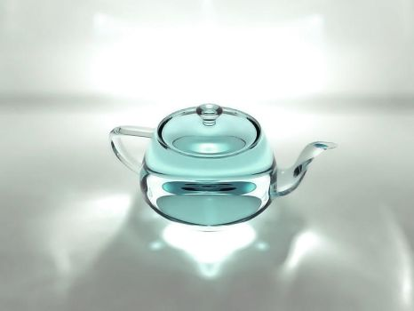 Teapot Caustics - 3Ds Max by ritzpagli