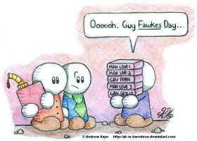 Guy Fawkes Day by AK-Is-Harmless