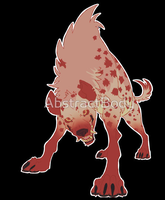 Hyena shirt/stickers by boarbarian