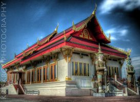 buddhist temple by KrisKros2k