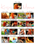 Kissing Meme - James Potter and Lily Evans by sparrowhawk51