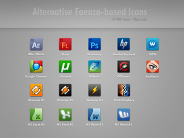 Alternative Faenza-based Icons by minstreldesign