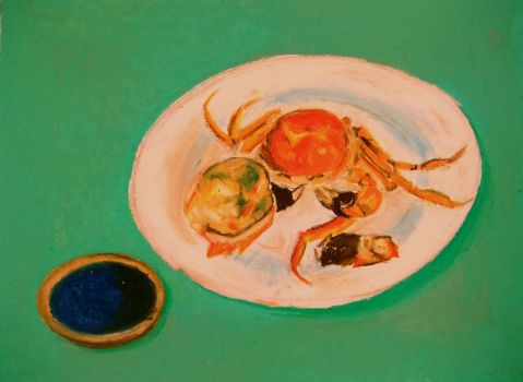 Nourishment    One and a Half of a Crab by ruilinf