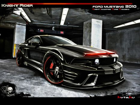 Ford Mustang K.I.T.T. by rookiejeno