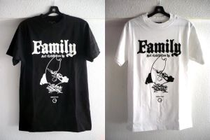 Family Exhibition Tee by thekillergerbil