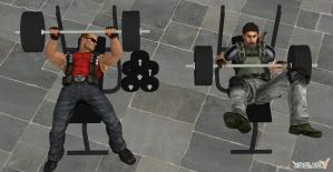 Weight Set for XNALara by Wesker500