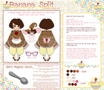 Bakery Magical Girls- Banana Split by mea0113