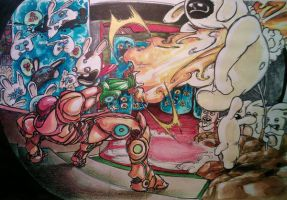 samus versus the lapinoid 2 by mugiwaradimby