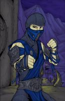 Sub-Zero - Color by TheEndofOurLives