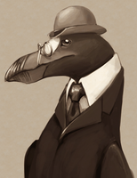 Professor Auk by FerioWind