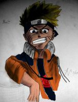 Uzumaki Naruto Colored by Roadstar91