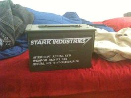 Stark Industries Ammo Can by trebory6