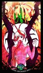 Tokyo Ghoul Tarot :  XII THE Hanged Man by natersal