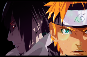 Naruto and Sasuke 671 by iAwessome