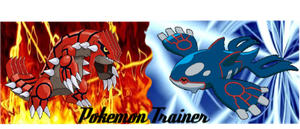 Groudon and Kyogre by ThePokemonTrainer