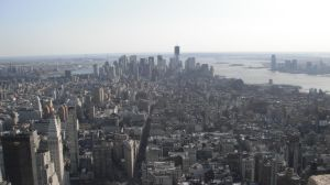New York from Empire State Building by TalesofTimeox