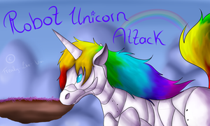 Robot Unicorn Attack by Freaky--Like--Vivi