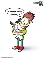 sparky y mike by NuchiCorp