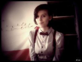 Fem!11th Doctor Cosplay by xElleEnchanted