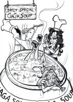 Gaga soup by friend-of-totoro
