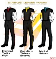 Starfleet Uniform Variant by Alechandrej