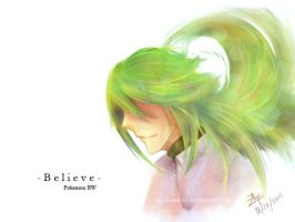 Pokemon BW : Believe by VanillaTea-er
