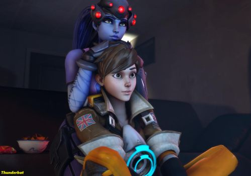WidowTracer - Chilling by GeneralThunderbat