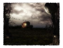 The lonely house Wallpaper by Ecathe