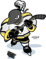 The Pittsburgh Penguin by shane613