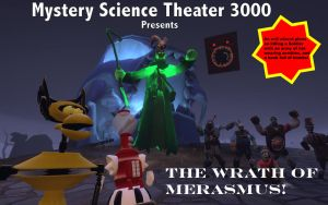 MST3K: The Wrath of Merasmus! Title Card by MeltingMan234