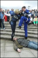REUK Zombie Curb Stomping by MJ-Cosplay