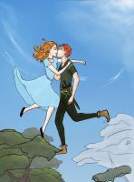 Peter and Wendy by flobear777