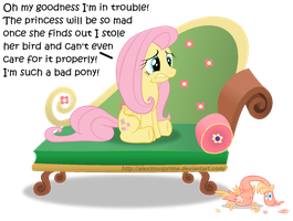 Drama Queen Fluttershy by AleximusPrime