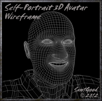 Self_Portrait_3D_Wireframe_by_Sum1Good by Sum1Good