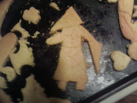 Pyramid Head cookie by Doom-In-A-SKORT