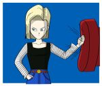 Android 18 - Dragon Ball Z (Full Color) by Blue3clipse