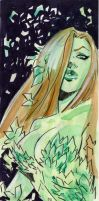 Poison Ivy Tall sketch by qualano