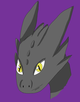 Toothless by dragzata