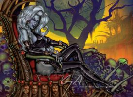 Lady Death by badass-artist